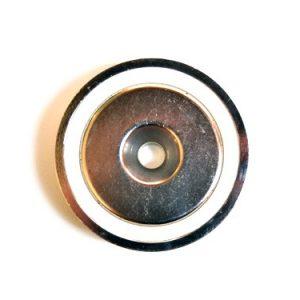 hele sterke vismagneet, vismagneet met 130 kg trekkracht, magneetvissen, magneet , metaaldetectie, Neodymium, 130 KG trekkracht