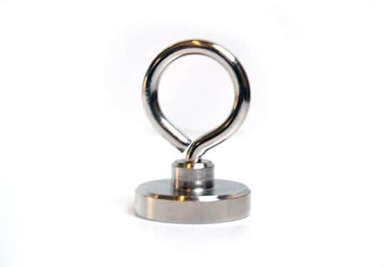 magneet met 55 kg trekkracht, magneetvissen, magneet, metaaldetectie, Neodymium magneet, 55 KG trekkracht, vismagneet