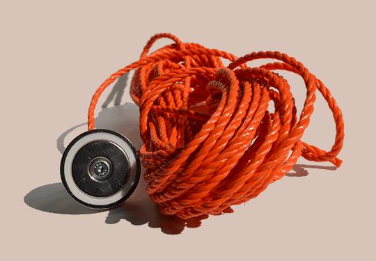 130 kg vismagneet, vismagneet met 130 Kg trekkracht, hele sterke magneet