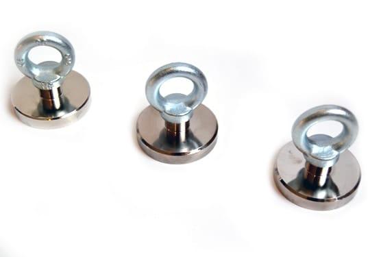 super magneet, magneet met 75 kg trekkracht, vismagneet, magneetvissen, magneet, , metaaldetectie, Neodymium, 75 KG trekkracht