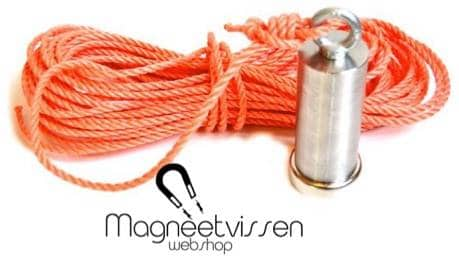 super sterke vismagneet, vismagneet met 130 kg trekkracht, magneetvissen, magneet, metaaldetectie, Neodymium, 130 KG trekkracht