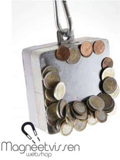 Blokmagneet 750 kg,vismagneten kopen, vismagneet kopen online